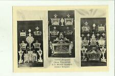 139242 leffe bergamo chiesa  di san michele arcangelo artistici reliquiari