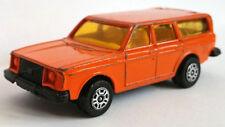 Corgi Juniors Volvo 245 DL orange, gebraucht, gut, ohne OVP