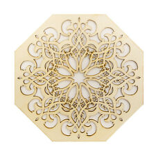 Decorative Wooden Panel *19.8 cm DIA* Laser Cut Plaque