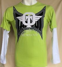 Tapout Est. MCMXCVII Boy Long Sleeve Green's T-Shirt Size S(8) MSRP $28.00