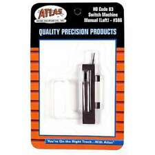 Atlas 586 Code 83 Left Hand Manual Switch Machine 732573005860