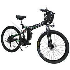 21 Speed 350W 26'' Electric Bike E-bike Mountain Bicycles City Folding Cycling