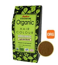 RADICO Light Ash Blonde Organic Hair Colour 100g ( Made from Henna & Herbs )