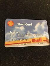 vintage shell credit card- Member Since 1971-exp-2018