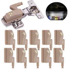 10Pcs Emergency Helpful LED Sensor Light Lamp Cupboad Door Cabinet Hinges Home