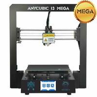 ANYCUBIC I3 Mega 3D Printer Ultrabase DIY PLA Printing US Stock 1-5 Days Arrival