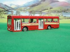 Dinky Toys 283 AEC SINGLE DECK BUS - Red Arrow/grey seats