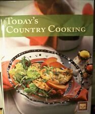 Today's Country Cooking Cookbook by Cooking Club of America new hardcover