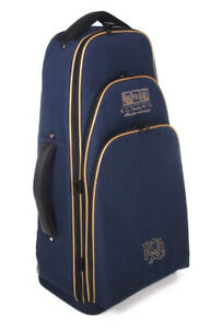 RG Hardie Piper Deluxe Bagpipe Case Navy Highland Bagpipes Rucksack