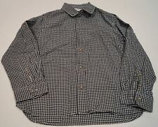 MARIE CHANTAL Boy's 100% Cotton Black & White Check Collared Long Sleeve Shirt 6