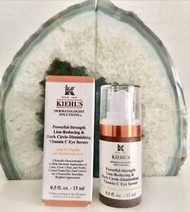 Kiehl's powerful-strength line dark circle diminishing vitamin C eye serum