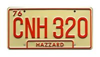 Dukes of Hazzard | General Lee | Georgia CNH 320 | STAMPED Prop License Plate