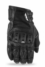 FLY STREET BRAWLER LEATHER MOTORCYCLE RIDING GLOVE BLACK XXXLARGE 3XL 476-20403X