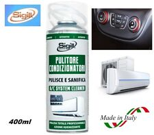 """PULITORE IGIENIZZANTE SPRAY PER CONDIZIONATORE AUTO E CASA 400ml """"SIGILL"""" ITALY"""