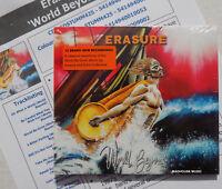 ERASURE CD World Beyond NEW 10 Track Album DIGI-PACK + Promo Info Sheet IN STOCK