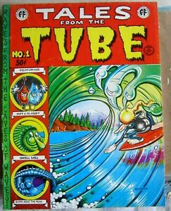 Tales from the Tube #1 Rick Griffin 1973 Print Mint VF free ship