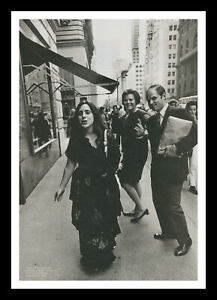 Framed & Mounted Laura Nyro Music Singer Original Promo Poster Print A4