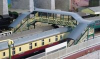 Footbridge - Ratio 548 - OO/HO Building Kit - P3