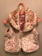 Kids Headquarters Pink animal print zip front vest.  Girls.  Size 2T