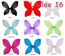 "12 Pcs 16""x19"" Fairy Wings Butterfly Costume : Tinker Bell Halloween Angel Pixie"