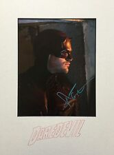 CHARLIE COX AUTHENTIC SIGNED DAREDEVIL 10X8 MOUNTED PHOTO UACC [12408] PROOF