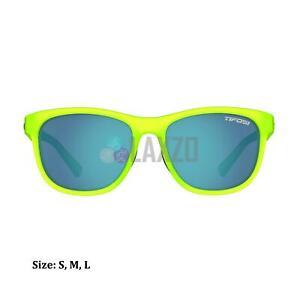 Tifosi Swank Single Lens Sports Eyewear Elektrisch Blue/Smoke Bright blue