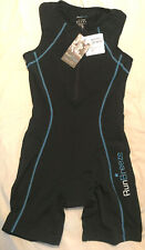 RunBreeze Women's Breathable, Quick-Drying Triathlon Suit with Dual Rear Pocket