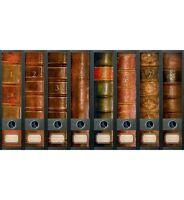 "File Art - 8 breite Ordnerrücken Design Etiketten ""Folio""................311+312"