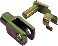 M6 Short Clevis & Clip for Kart Brake Tie Rod TonyKart Rotax Honda UK KART STORE
