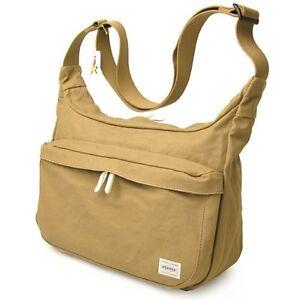 NEW Yoshida Bag PORTER Beat SHOULDER BAG 727-08972 Beige Made in Japan