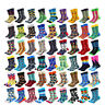Wholesale Men Cotton Socks Funny Colourful Novelty Dress Socks For Wedding Gifts