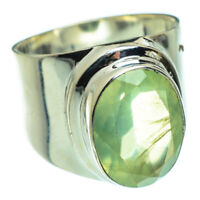 Prehnite 925 Sterling Silver Ring Size 7 Ana Co Jewelry R47744F