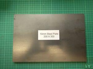 10mm Mild Steel Plate - 300x200  200X200 150X150 LASER CUT