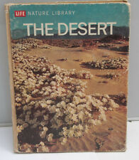 Life Nature Library - The Desert - 1961 - Photo Book English - USED F31