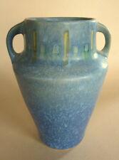 """Roseville Blue Windsor Vase #546-6, 6-3/8"""" tall, Circa 1931  Excellent"""