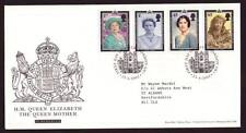 29052) UK - GREAT BRITAIN 2002 FDC Queen mother 4v