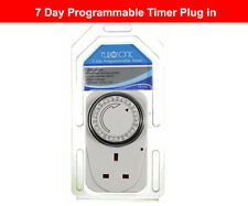 EUROSONIC 7 Days Programmable Timer Plug In ES112