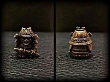 Samurai Paracord Bead Bracelet Solid Bronze Handmade Lanyard Knife Beads Tool