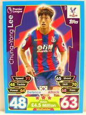 Match Attax 2017/18 Premier League - #107 Chung-Yong Lee - Crystal Palace FC