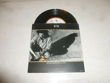 """U2 - With Or Without You - 1987 UK 3-track 7"""" Vinyl Single.."""