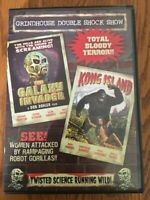 The Galaxy Invader Don Dohler, & Kong Island, Grindhouse Double Feature, 1 DVD