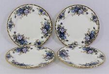 4 Royal Albert MOONLIGHT ROSE Bread & Butter Dessert Plates Bone China England