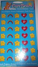 Care Bears Package Of Reward Stickers-4 Sheets Goes With Reward Charts