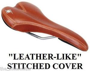 Velo Origin8 UNO Pro BROWN Bike Saddle Seat Leather-like Track Fixed Gear Road