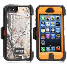 OtterBox Defender Realtree Case & Holster for iPhone 5 AP Blazed Tree Orange OEM