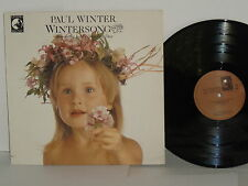 Paul Winter Wintersong LP New Age Jazz Living Music The Cherry Tree Little One