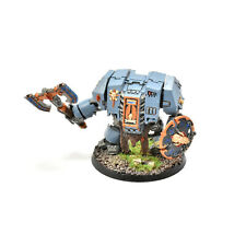 SPACE WOLVES Venerable dreadnought #1 WELL PAINTED Warhammer 40K