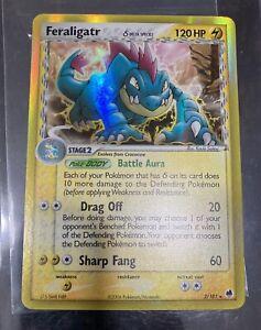 2006 Pokemon TCG - EX Dragon Frontiers - Feraligatr 2/101 Holo - LP/NM