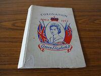Cardboard Commemorative Folder: Queen Elizabeth II 1953 Coronation