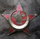 WW1 Turkish crescent officers Badge enamel Original